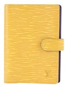Louis Vuitton Yellow Epi Agenda PM 28LT927