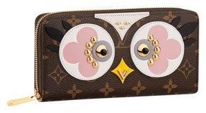 Louis Vuitton M62413 Lovely Birds Canvas Monogram Zippy Wallet