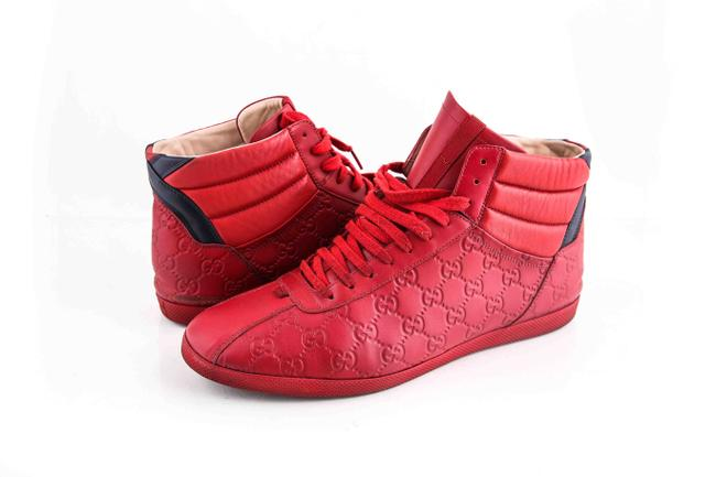 Item - Red * Signature High-top Sneaker Shoes