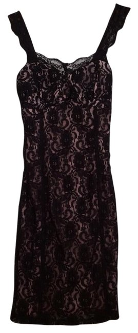Preload https://img-static.tradesy.com/item/22209711/frederick-s-of-hollywood-illusion-lace-mid-length-cocktail-dress-size-4-s-0-3-650-650.jpg