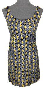 Boden short dress Yellow, Blue, White on Tradesy