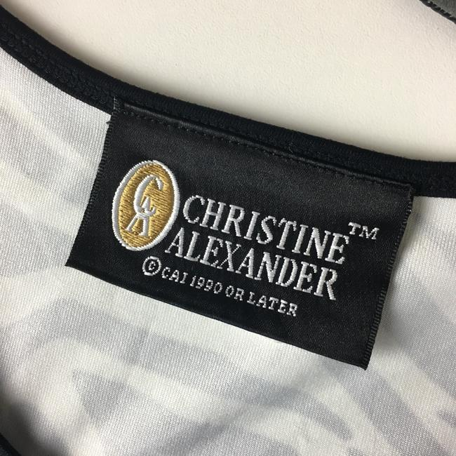 Christine Alexander Top Black, White