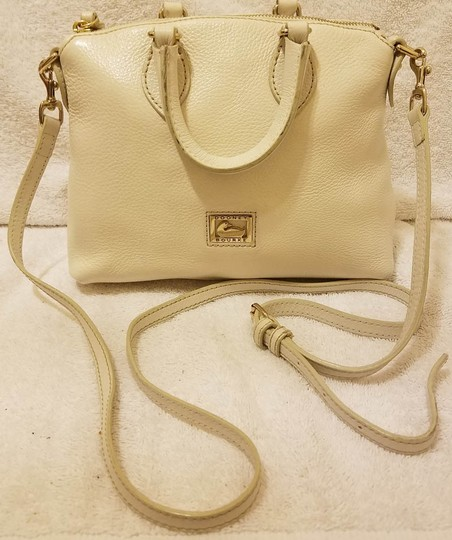 Dooney & Bourke Refurbished Leather Lined Convertible Cross Body Bag