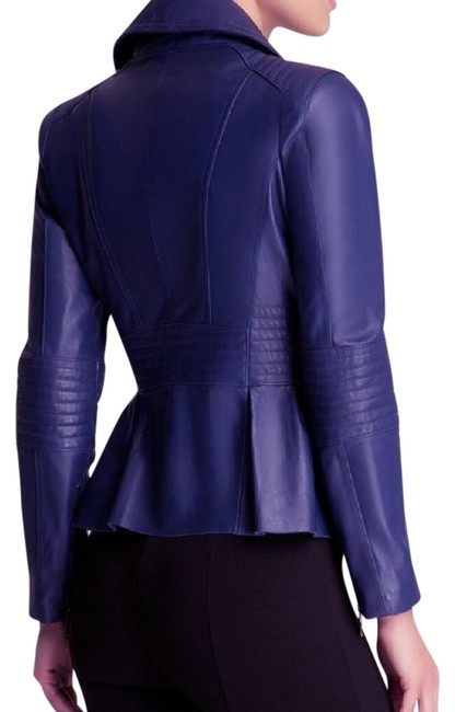 Preload https://img-static.tradesy.com/item/22210091/blue-with-sliver-zipper-blazer-size-4-s-0-1-650-650.jpg