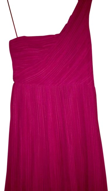 Preload https://img-static.tradesy.com/item/22210235/theory-pink-pleated-one-shoulder-bubble-hem-short-cocktail-dress-size-0-xs-0-1-650-650.jpg