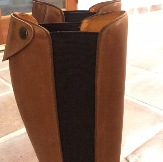 Frye leather brown long boots Brown Boots