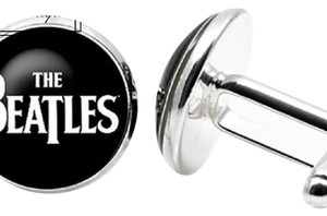 Handmade The Beatles Novelty Cufflinks