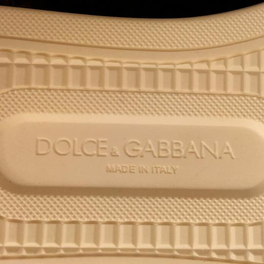Dolce&Gabbana Dolce Lace Sneakers Slip-on Yellow Athletic