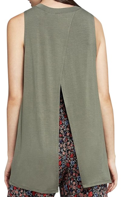 Preload https://img-static.tradesy.com/item/22210703/bcbgeneration-dusty-olive-women-s-lightweight-open-back-slit-tank-topcami-size-8-m-0-1-650-650.jpg
