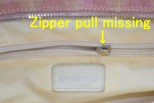 Chanel Duffle Boston Handbag Travel New Line Satchel in Pink