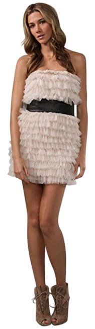 Preload https://img-static.tradesy.com/item/22210864/haute-hippie-pale-pink-tiered-ruffle-style-hhfa10-3078-short-cocktail-dress-size-2-xs-0-1-650-650.jpg