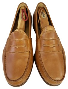 Cole Haan Tan ( Brown) Man Ascot Penny Loafers Slip Ons Size 9 M In Color Shoes
