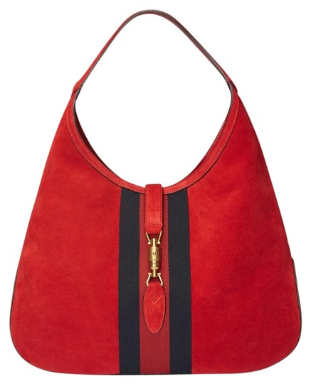 Preload https://img-static.tradesy.com/item/22210955/gucci-jackie-jackie-large-362968-new-with-tags-hibiscus-red-soft-suede-leather-hobo-bag-0-1-540-540.jpg
