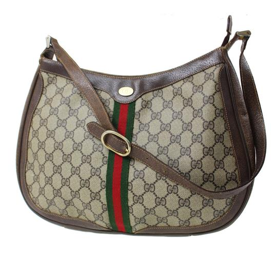 Preload https://img-static.tradesy.com/item/22211073/gucci-vintage-pursesdesigner-purses-large-g-logo-coated-canvasleather-in-brown-with-redgreen-center-0-0-540-540.jpg