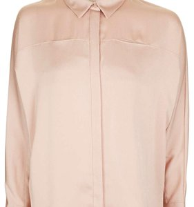 Oink Satin Blouse Top