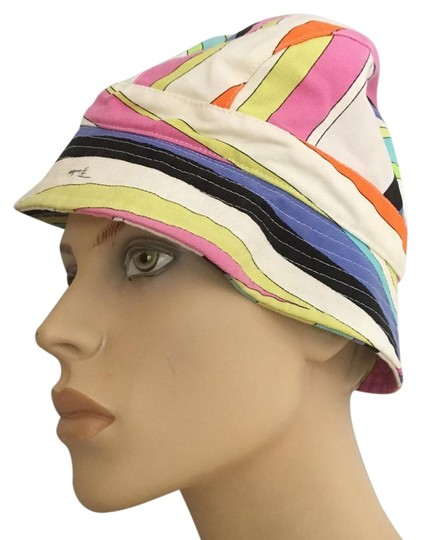Preload https://img-static.tradesy.com/item/22211098/emilio-pucci-multicolor-cotton-hat-0-1-540-540.jpg