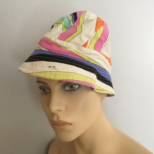 Emilio Pucci Emilio Pucci Multicolor Cotton Hat