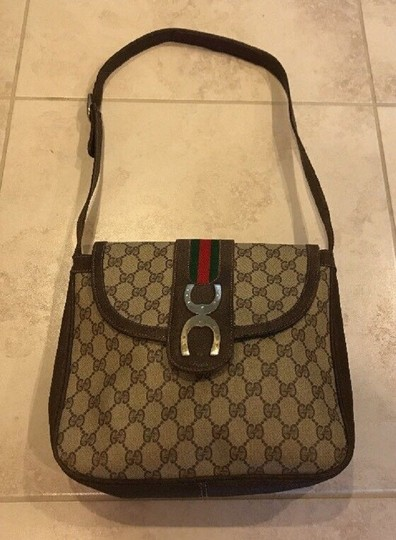 Gucci Rare Style Early High-end Bohemian Equestrian Accents Great For Everyday Hobo Bag