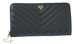 Victoria's Secret NEW Victoria's Secret love VS logo continental stitching Long Wallet