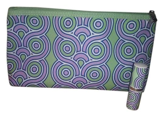 Preload https://img-static.tradesy.com/item/22211692/clinique-green-and-purple-designer-jonathan-adler-limited-edition-cosmetic-bag-0-1-540-540.jpg