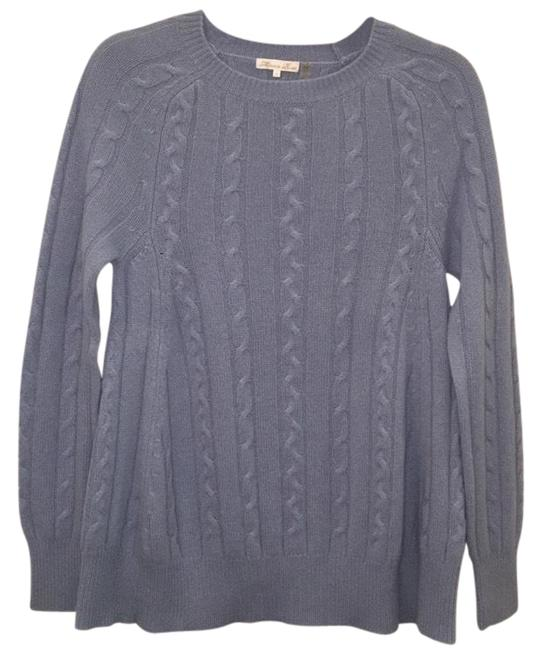 Preload https://img-static.tradesy.com/item/22211861/minnie-rose-oversized-cable-knit-crew-neck-cashmere-light-dusty-blue-sweater-0-5-650-650.jpg