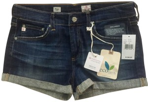 AG Adriano Goldschmied Rolled Mini/Short Shorts Blue