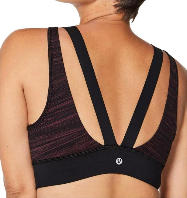 Preload https://img-static.tradesy.com/item/22212064/lululemon-low-tide-blush-berry-black-run-the-day-activewear-sports-bra-size-8-m-29-30-0-2-650-650.jpg