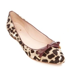 Kate Spade Fur Animal Print Leopard Flats