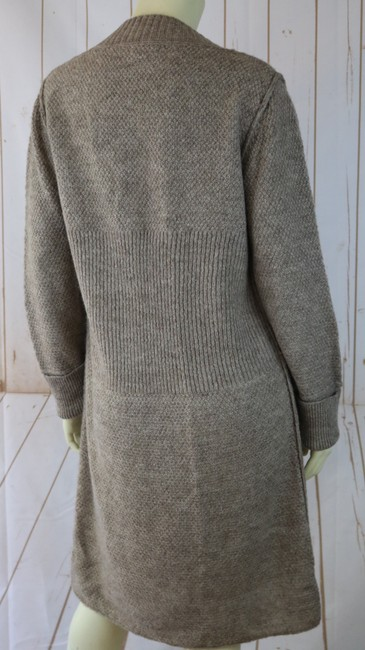 Carducci Long Boho Button Front Pockets Sweater