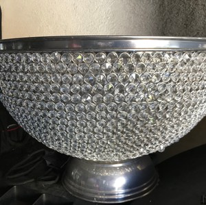 Large Crystal Ice Bucket