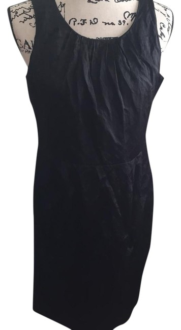Preload https://img-static.tradesy.com/item/22212567/eileen-fisher-black-little-exposed-zipper-pleated-mid-length-workoffice-dress-size-petite-10-m-0-5-650-650.jpg