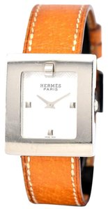 Hermès BE1.210 Stainless Steel Leather Belt Watch w/ Multiple Bands