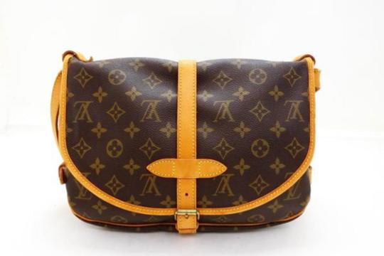 Louis Vuitton Saumur Odeon Bloomsbury Menilmontant Brown Messenger Bag