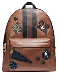 Coach Rucksack Limited Edition Patches Mix Patches Pin Boorch Backpack