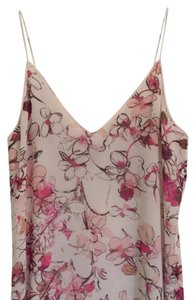 Chelsea28 Top white/ pink floral