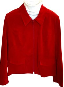 Kim Rogers Red Jacket
