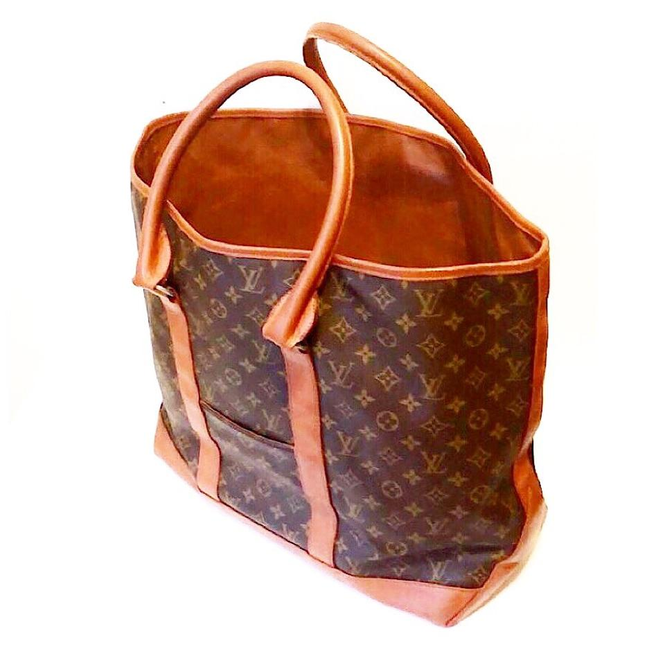 louis vuitton vintage monogram weekender gm tote tradesy. Black Bedroom Furniture Sets. Home Design Ideas