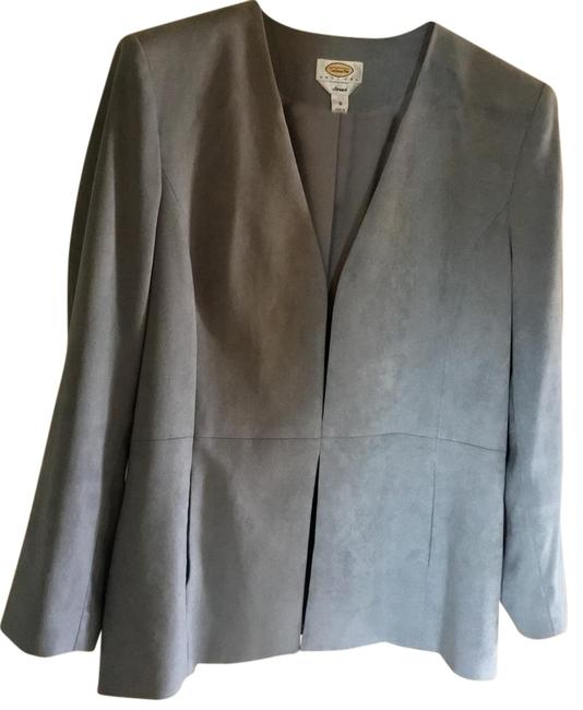 Preload https://img-static.tradesy.com/item/22212899/talbots-grey-faux-suade-with-slit-seam-front-jacket-size-16-xl-plus-0x-0-1-650-650.jpg
