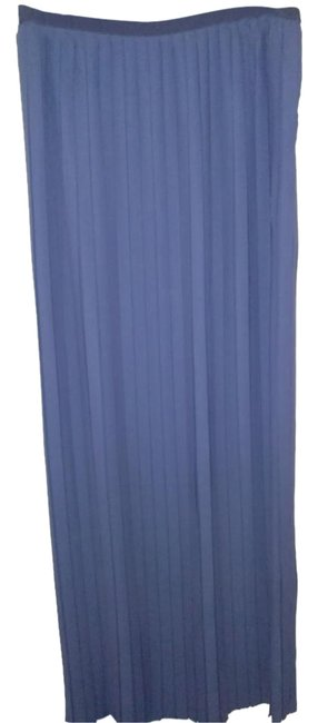 Preload https://img-static.tradesy.com/item/22212946/romeo-gigli-dark-blue-made-in-italy-long-pleated-maxi-skirt-size-14-l-34-0-1-650-650.jpg