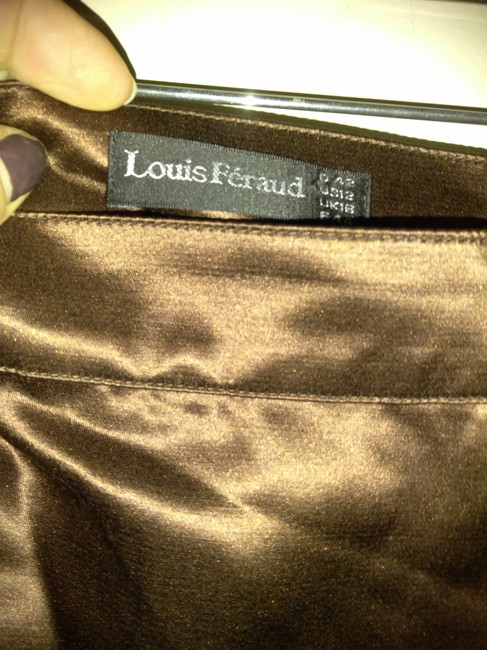Louis Feraud Skirt Bronze brown