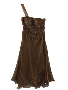 BRONZE Casandra Stone Formal Gown_#125-12 Dress