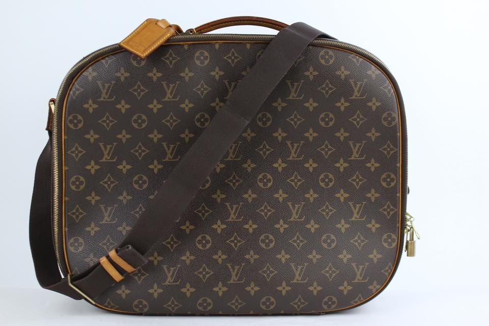 76c0ac764dbe Louis Vuitton Carryall Packall Hat Box Trunk Suitcase Brown Travel Bag ...