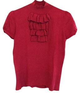 August Silk Top red