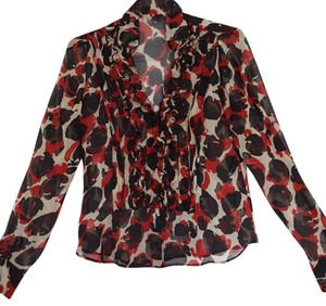 Moschino Top Red/Black