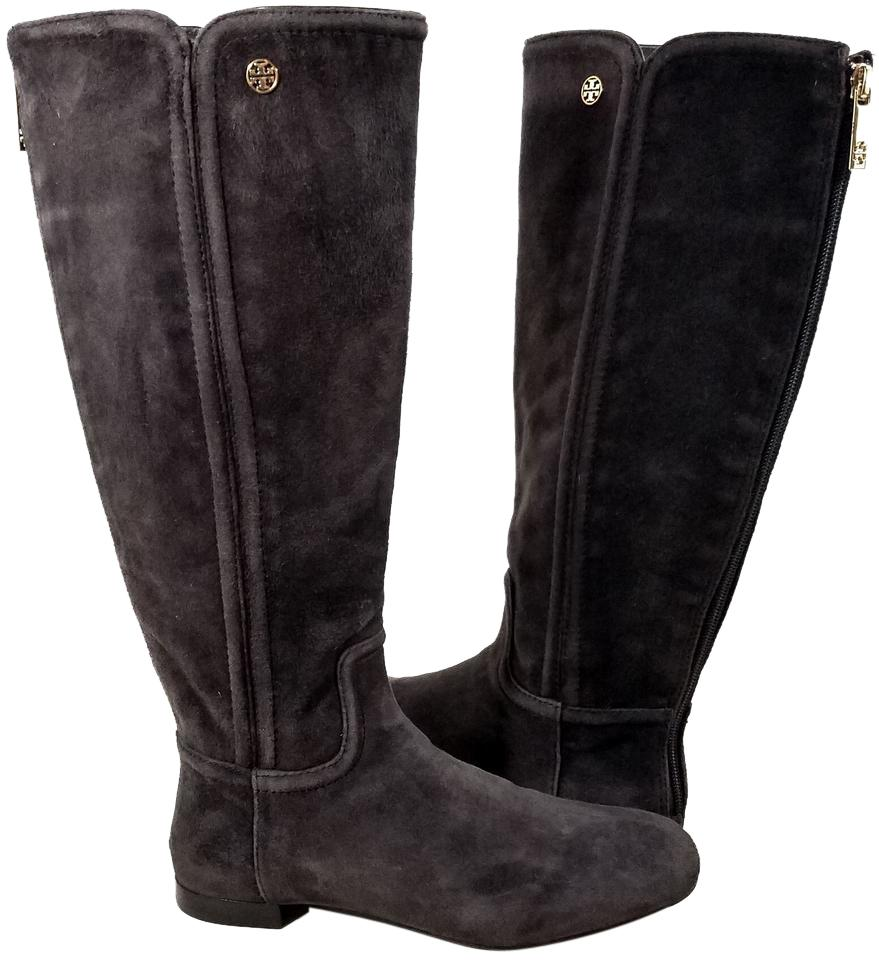 4768063353c Tory Burch Coconut Brown Irene Riding Boots Booties Size US 6.5 ...