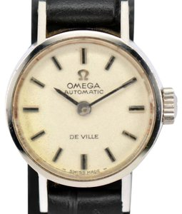 Omega Vintage Omega Deville Stainless Steel Silver Dial Automatic Watch
