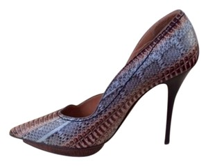 Lanvin Snakeskin Runway Collection Pumps