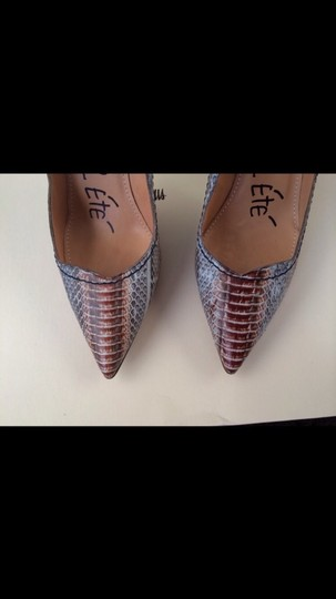Lanvin Snakeskin Runway Collection Limited Edition Pointed Toe Pumps
