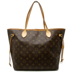 Louis Vuitton Gg Gm Neverfull Damier Canvas Monogram Tote In Brown