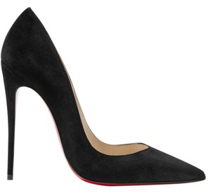Christian Louboutin Suede Kate Kate Loubs black Pumps
